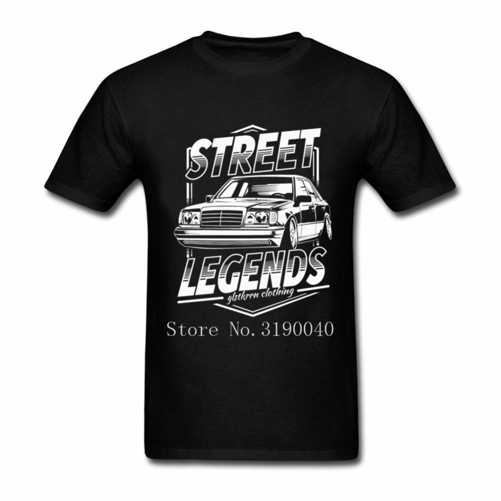 W124 T Shirt Men 2018 New Harajuku Mercedes W124 T Shirt For Men's Short Sleeve Camiseta Cotton Plus Size T Shirts Fitness Men