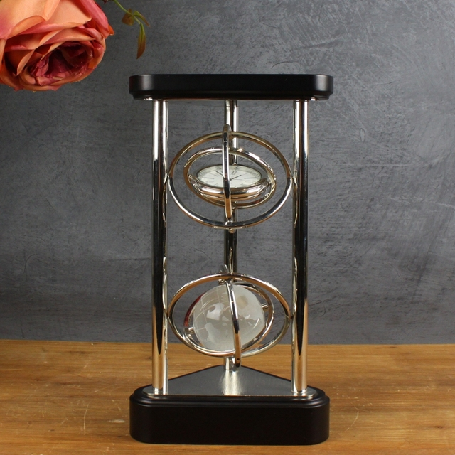 Discover Life Neoclassical Ornament Desk Ornaments Creative Plating Watches Wine