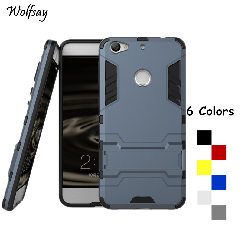 Wolfsay For Cover Letv 1s Case X500 X501 Shockproof Armor Phone Case For Letv 1s Silicone Phone Cover For Letv 1S One S Fundas
