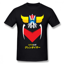 Anime Mazinger Z T-shirt For Men Plus Size Cotton Team Tee Shirt 4XL 5XL f237b24fd1ba