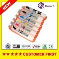 1set For PGI 150 Cli 151 Pgi150 Refillable Ink Cartridge For CANON PIXMA MG6310 Printer Cartridges