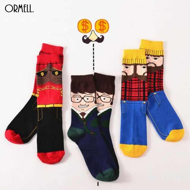 Aliexpress.com : Buy 2016 Fashion Cartoon Socks Winter Office ...