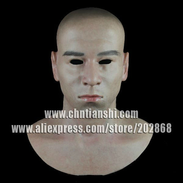 SF-N8 silicone female mask   human mask   crossdress silicone female mask
