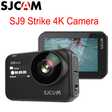 ¡En Stock! Cámara de acción remota SJCAM SJ9 Strike Gyro/EIS Supersmooth 4K 60FPS WiFi, carga inalámbrica, transmisión en vivo