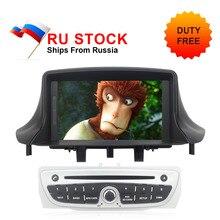 Отправить от российского Авторадио для Megane 3 2009 2010 2011 2012 2013 2014 Fluence автомобильный DVD ips Экран Android 8,0 gps Navi ГЛОНАСС