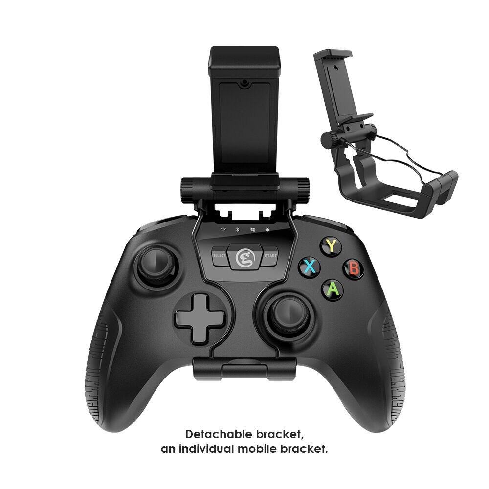 GameSir T2a 2.4G Bluetooth Sans Fil USB Filaire PC Contrôleur + Support de Téléphone, Joystick pour Android Téléphone, TV Box, Windows