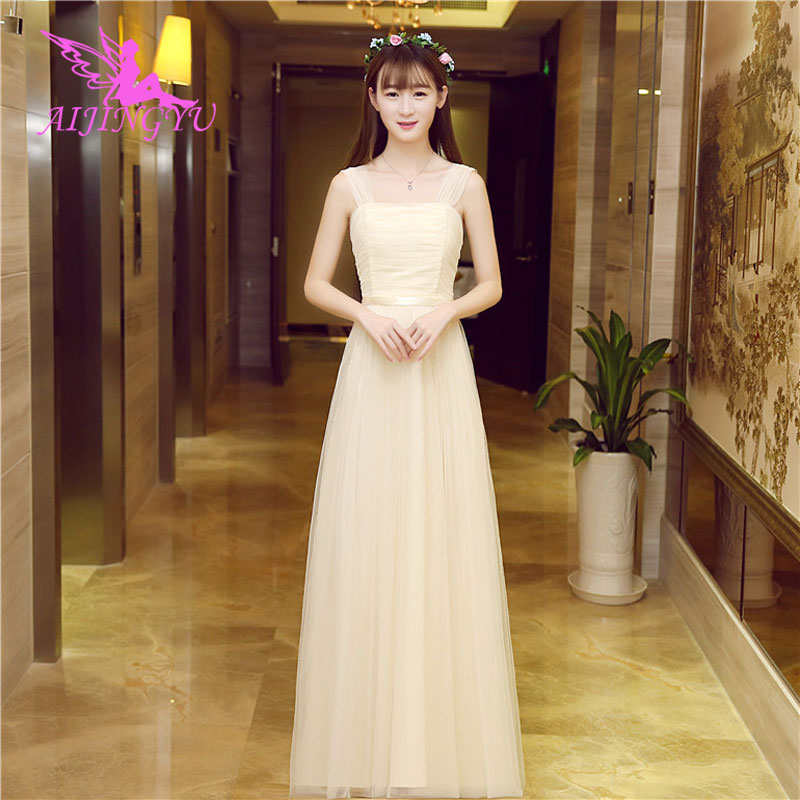 AIJINGYU 2018 fashion   bridesmaid     dress   wedding guest formal   dresses   BN710