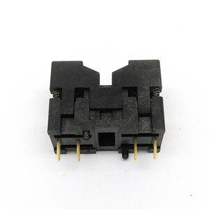Image 3 - MSOP8 SSOP8 MSOP 8 SSOP 8 IC Test Socket Pitch 0.65mm IC Body Breedte 3mm open top burn in socket programmeren socket