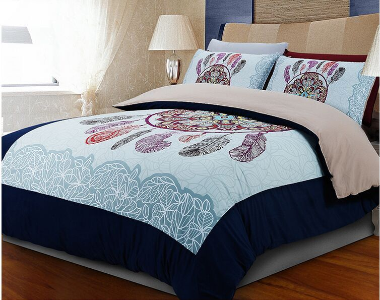 light blue Oriental Chinese feather design bedding set twin full queen king  size quilt duvet covers. Compare Prices on Light Blue Bedding  Online Shopping Buy Low