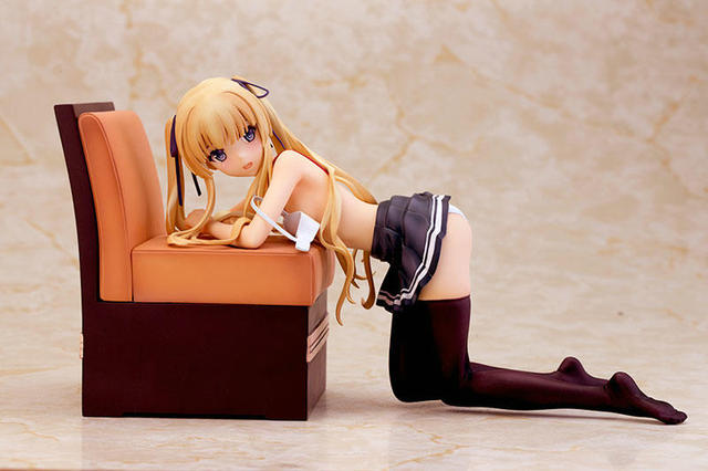 13.5cm Anime Saekano: How to Raise a Boring Girlfriend Eriri Spencer Sawamura Sofa Sexy PVC Figure Collection Toy  2