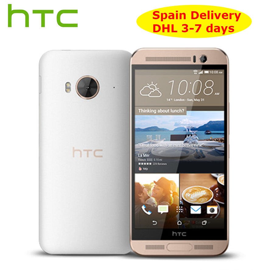 "Spain Delivery NEW HTC One ME M9ew Dual SIM 4G LTE Mobile Phone 5.2"" OctaCore 3GB RAM 32GB ROM 2560x1440P 20MP Android Callphone-in Cellphones from Cellphones & Telecommunications"