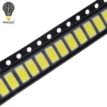 100pcs 5630/5730-CW/WW 0.5W-150Ma 50-55lm 6500K White Light SMD 5730 5630 LED 5730 diodes (3.2~3.4V)