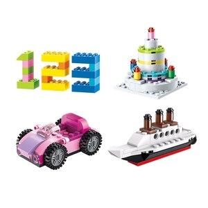 Image 4 - Enlighten 2901 460Pcs Bulk Diy Creatieve Bouwstenen Bakstenen Educatief Speelgoed Voor Kinderen Gift Kerst Juguetes