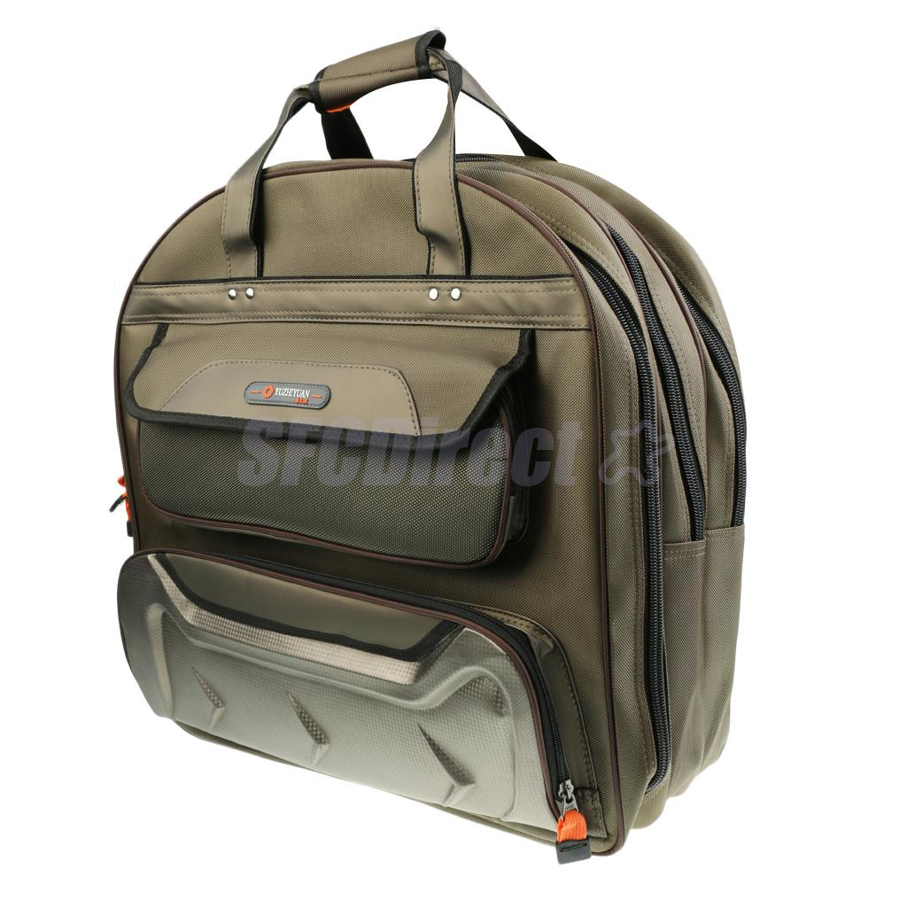 3 Layers Chunky Outdoor BackPack Fishing Tackle Bag Lure Bait Fishing Bag