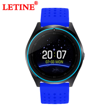 Letine V9 Smart Watch Clock 2019 Electronic Wearable Devices Support Sim Card Connect Android Phone for Xiaomi PK GT08