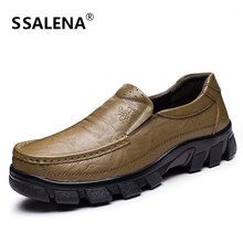 Men Formal Dress Shoes Brand Men Genuine Leather Wedding Business Shoes Men Classic Soft Sole Breathable Formal Shoes AA20555