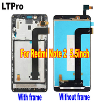 TOP Quality Full LCD Display Touch Screen Digitizer Assembly For Xiaomi Hongmi Redmi Red Rice Note