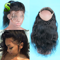 360 Lace Frontal Pre Plucked Brazilian Body Wave 360 Lace Virgin Hair Lace Frontals With Baby Hair Ear To Ear 360 Lace Frontals