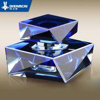 Car Perfume Car Crystal Perfume Block Rhombus Vehienlar Decoration Accessories Car Supplies