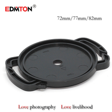Digital camera Lens Cap keeper 72mm 77mm 82mm Common Lens Cap Digital camera Buckle Lens Cap Holder Keeper Free transport
