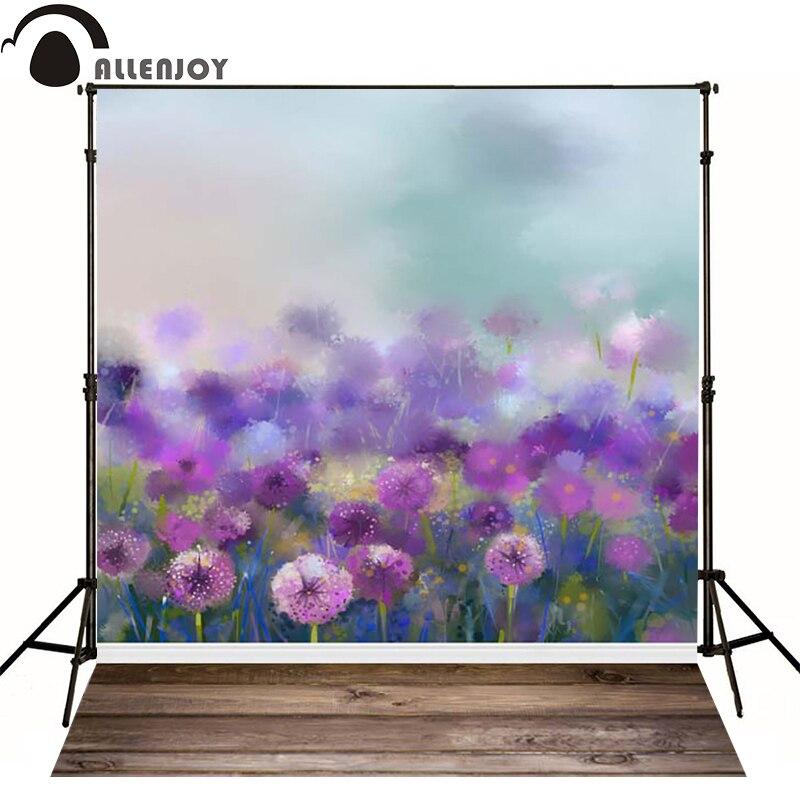 ▽Fotografía de Allenjoy flor púrpura fondos para estudio ...