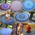2016 Chiffon Round Beach Towel Boho Mandala Towel Round Beach Cover Up Serviette De Plage Adulte Toalla Playa Beach Swim Towels