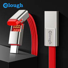 Elough Fast Charging QC 3.0 USB Type C Cable for Samsung S9 S8 Note 9 8 Oneplus Xiaomi Mi 8 Max Type-C Phone Charger USB Cable