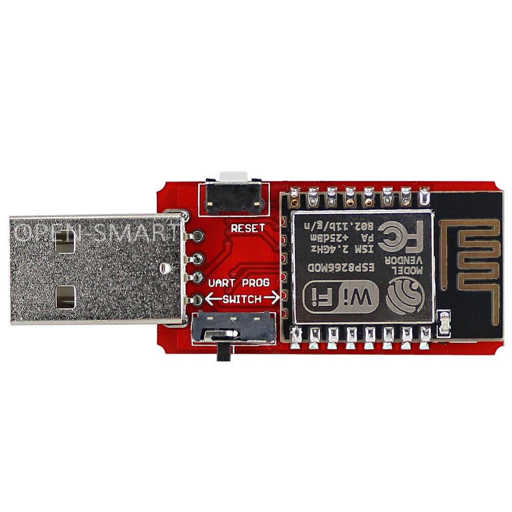 USB to ESP8266 ESP-12E / ESP-12 Wi-Fi Module Built-in Antenna 2.4G Serial transceiver for ESP-12E Debugging Firmware Programming