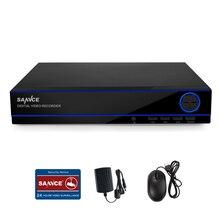 Sannce 8CH 1080 P HD Запись HDMI видеорегистратор цифровой видеомагнитофон системы видеонаблюдения QR