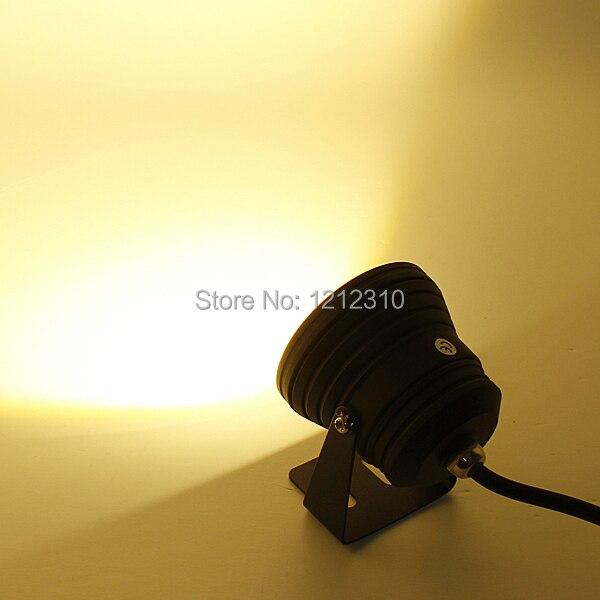 10 Вт Светодиодный прожектор Подводные лампы Холодный/теплый белый Водонепроницаемый IP68 DC12V 1000lm светодиодный прожектор, открытый светодиод...