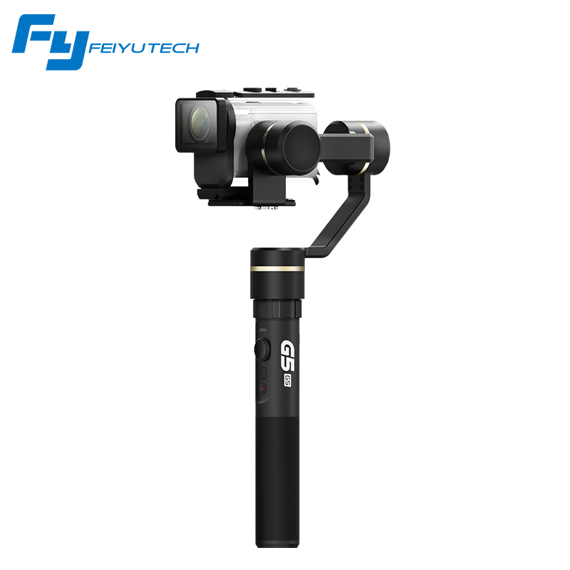 FeiyuTech FY G5GS Gimbal for Sony AS50 AS50R Sony X3000 X3000R Splash Proof 3-Axis Handheld Stabilizer for 130g-200g SONY Camera yuneec q500 typhoon quadcopter handheld cgo steadygrip gimbal black
