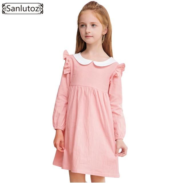 Sanlutoz niñas vestido de invierno niños vestido para fiesta boda de manga  larga niñas pequeñas ropa b0a0d138bdd0