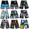 High Quality bermuda masculina Shorts Mens Board Shorts Summer Big and Tall Short Pants Beach wear Quick Dry Silver