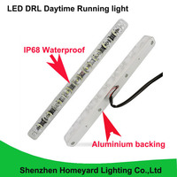 2016 High brightness Waterproof led drl daytime running light safety aluminium base led strip no need modify for all car