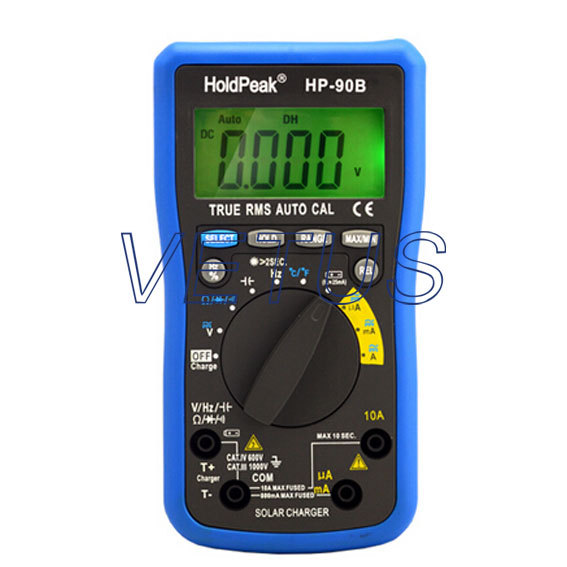 HP-90B HP90B Auto Range Digital Multimeter digital AVO meter mini multimeter holdpeak hp 36c ad dc manual range digital multimeter meter portable digital multimeter