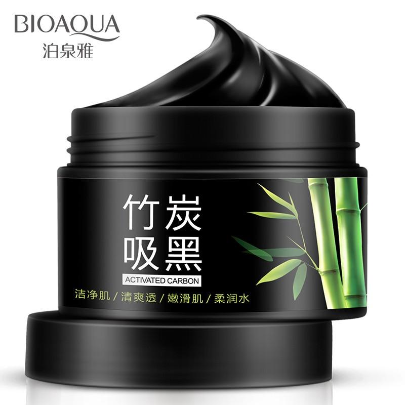 BIOAQUA Natural Bamboo Charcoal Deep Cleansing Washable