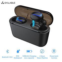 Беспроводные Bluetooth-наушники с микрофоном