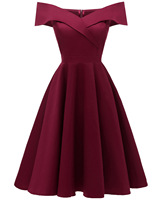 New Arrival Fashion Women's Dresses 2019 shoulder satin satin dress Plus Size Dress Vestudos Sexy Women Bandage dresses
