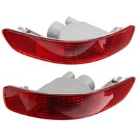 Влево/Вправо красный задний бампер стоп туман отражатель лампы Хвост Предупреждение лампа для Mitsubishi/Outlander EX 2007 -2012