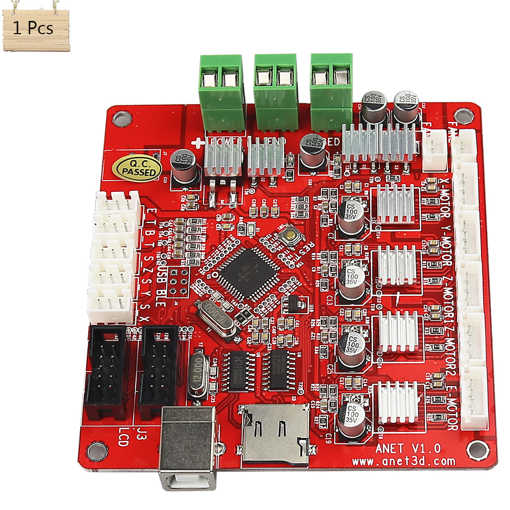 Anet Update Version Controller Board Mother Board Mainboard Control Switch For Anet A8 3D Desktop Printer anet update version controller board mother board mainboard control switch for anet a6 a8 3d desktop printer reprap prusa i3