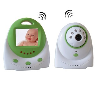"""2.4"""" colorful TFT Wireless Digital Baby Monitor camera audio video intercom 2.4Ghz electronic baby sitter night vision talkie"""