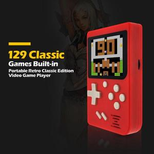 Image 2 - Handheld Game Player 8bit Video Game Console Game Player Built in 129 Games