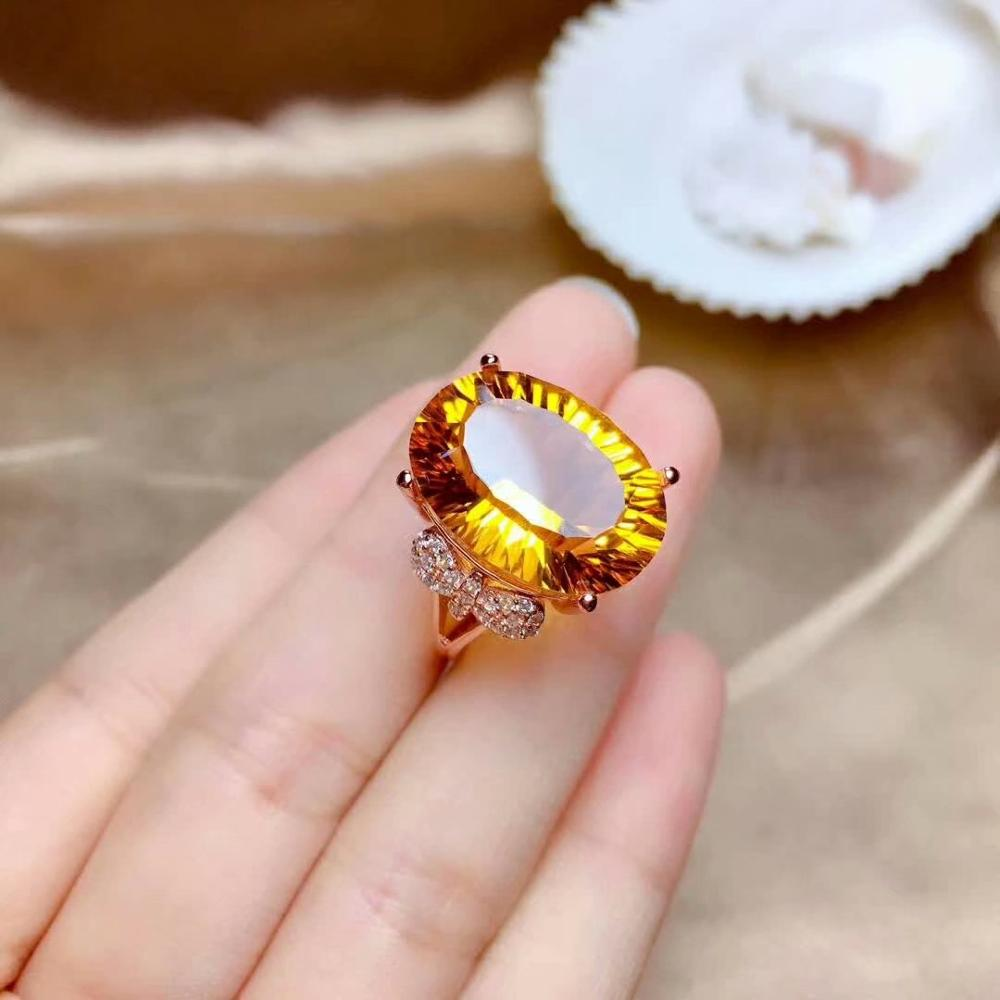 shilovem 925 sterling silver Piezoelectric citrine Rings fine Jewelry  trendy wedding bands open new 13*18mm mj1318235agjshilovem 925 sterling silver Piezoelectric citrine Rings fine Jewelry  trendy wedding bands open new 13*18mm mj1318235agj