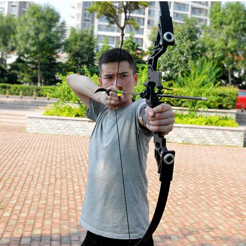 Arc classique puissant 35-40lbs costume de tir à l'arc de chasse professionnel pour la chasse en plein air tir pratique flèches accessoires - 4