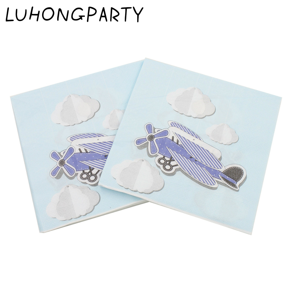 Pack of 20 Disney Pixar Planes Luncheon Napkins Party Tableware 33cm x 33 cm