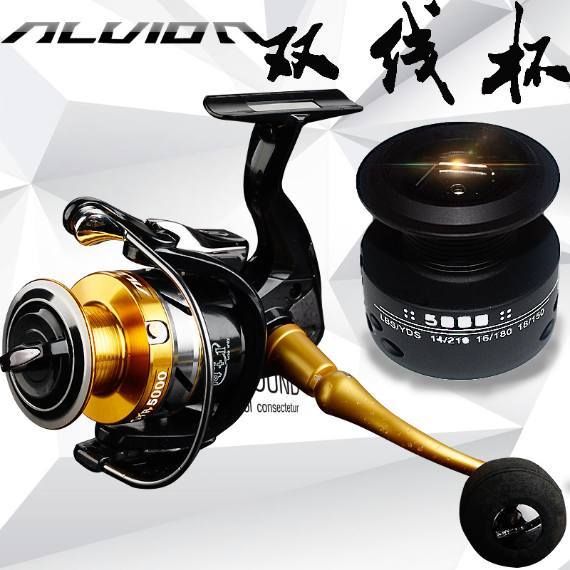 Spinning Fishing Reels 7BB Saltwater Bass Carp Feeder Spare Spool Moulinet Peche