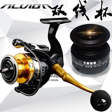 Spinning Fishing Reels 7BB Saltwater Bass Carp Feeder Spare Spool Moulinet Peche daiwa crest 2500a 3000a spinning fishing reel 4bb 5 3 1 max drag 4kg saltwater bass carp feeder front drag wheel moulinet peche