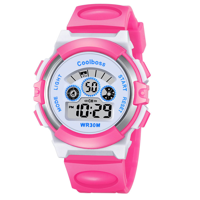 Watches Sport Student Children Watch Children Girls Analog Digital Sport Led Electronic Waterproof Wrist Watch New Boy Girl Gift A1