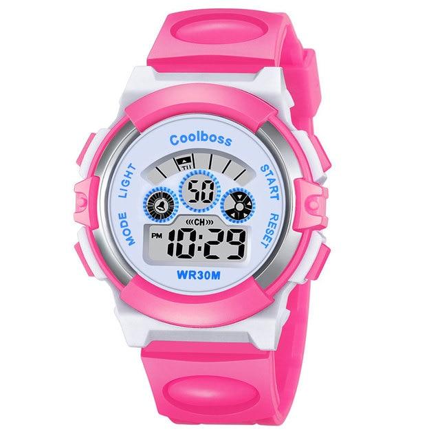 New Sport Students Children Watch Kids Watches Boys Girls Wristwatch Clock Child
