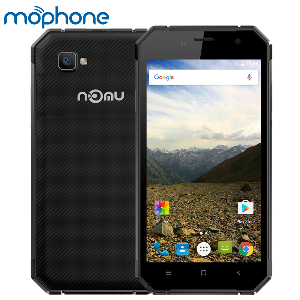 Цена за НОМУ S30 IP68 Водонепроницаемый 4 Г Смартфон Android 6.0 MTK6755 Окта основные 4 ГБ + 64 ГБ 1920*1080 P x 5000 мАч NFC 5.5 Дюймов FHD Мобильного Телефона